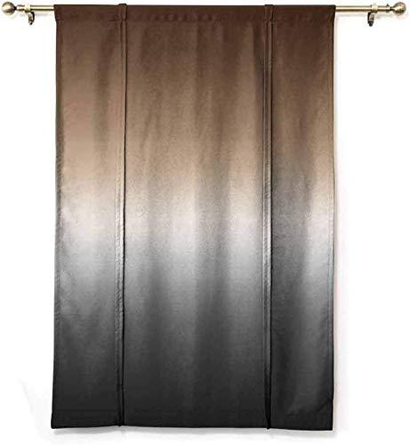 Wild One Curtain Medias Cortinas Opacas Ombre Arte Longations Aislamiento Térmico Bloquear Sombra De Luz Solar,W122 X H183 CM/48X72 Pulgada
