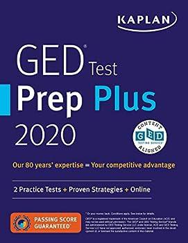 GED Test Prep Plus 2020  2 Practice Tests + Proven Strategies + Online  Kaplan Test Prep