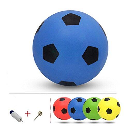 Gonflable Soccer Balls Pool Party Favor beachballs Bleu extérieur, 8.3 ''