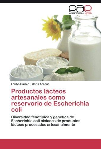 Productos lácteos artesanales como reservorio de Escherichia coli