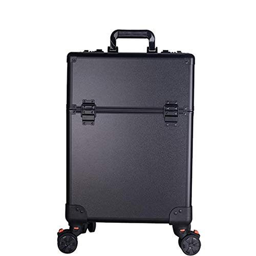 Rolling Makeup Case,With Makeup Artist Large-capacity Home With Makeup Hairdressing Tattoo Tool Box, Beauty Studio, Professional Makeup Artist Powder