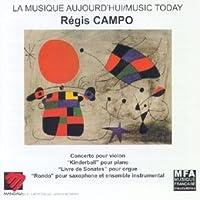 Campo Regis (B.1968): Violin Concerto (Angel Gimeno Violin W.Nieuw Ensemble Amsterdam) / 'Kin by VARIOUS ARTISTS (1999-07-28)