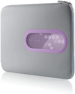 Belkin 15.4-Inch Neoprene Window Sleeve (Dark Gray/Lavender)