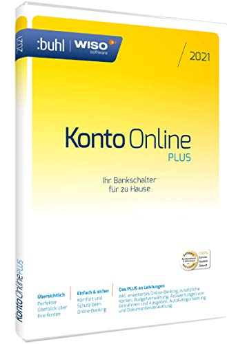 WISO Konto Online Plus 2021|aktuelle Box Version| (WISO Software)