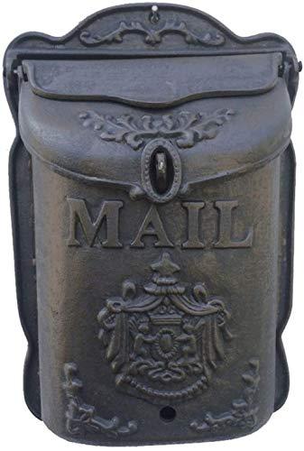 Brievenbus Gietijzeren Ambachten Retro Kleine Engel Letter Box Postvak Postbus Wanddecoratie Wandmontage Postbus Beveiliging mailbox