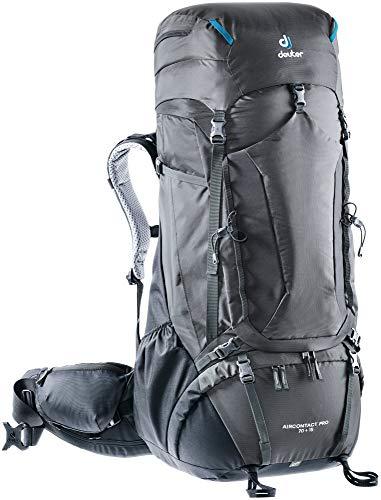 Deuter, Unisex - Adulto, Zaino da escursionismo (fino a 45 L), 3330320, Grafite/Nero, 70