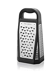 commercial Microplane Elite 5 Blade Grater – 5 grid surfaces including fine, coarse, tape and more. box microplane grater