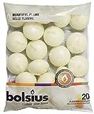 Bolsius Lot de 20 Bougies flottantes Haute qualité