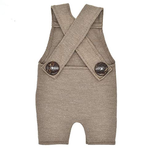 Frühchen Strampler Newborn Photography Prop Button Overalls Pants Photo Shoot Romper Outfit