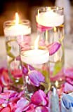 SPRINGROSE 3 Inch White Wedding Floating Candles-Set of 20