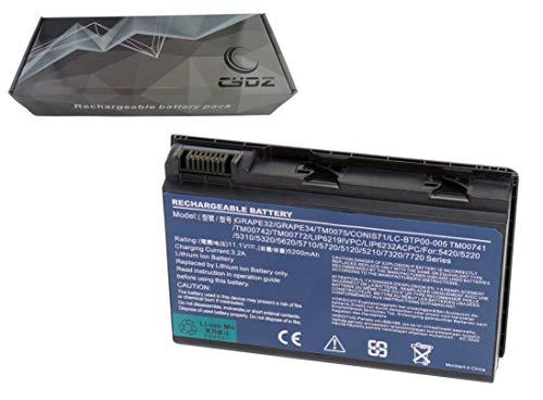 GRAPE32 GRAPE34 Batería 11,1V 5200mAh CONIS41 CONIS71 CONIS72 TM-2007 para Acer Extensa...