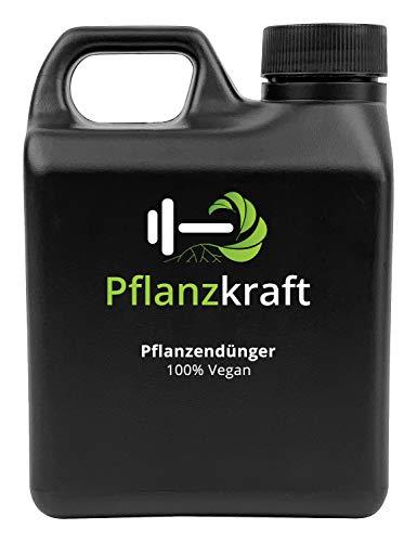 Pflanzkraft NPK Dünger mit Seetang | 1L für 300 Liter Gießwasser | Bio | Vegan | Algen