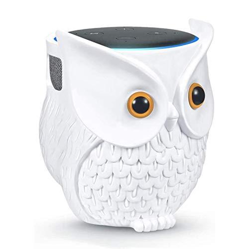 Magent Tischhalterung Für Echo Dot 3. Und 4. Generation - Eule Statue Ständer Für Smart Home Lautsprecher - Dekoration Für Home