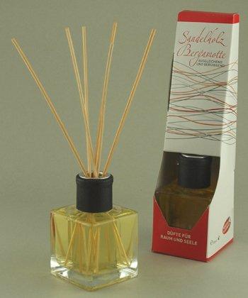Aroma Manufaktur Aromasticks geuren voor ruimte en ziel sandelhout en bergamot 100 ml