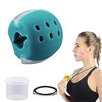 ジョーエクササイザー、男性と女性のための二重あごの運動、ジョーフィットネスボールの顔と首の筋肉の運動 - 顔のトナー 40 lb