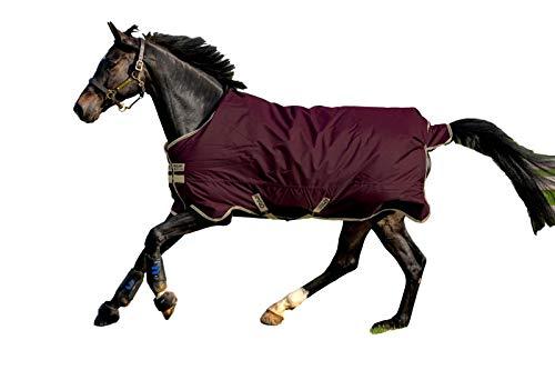 Horseware Amigo Hero Ripstop 100g Weichen Teppich 145cm Fig/Navy & Tan