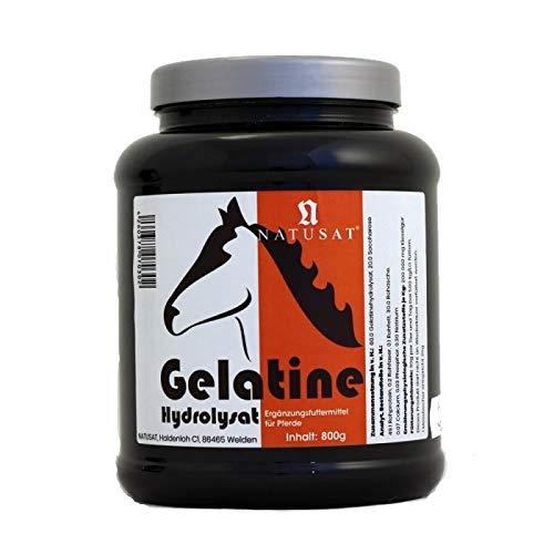 Natusat Gelatine 800 g, Ergänzungsfutter für Pferde