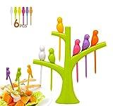 Crispy™ Bird Fruit Fork Set (Multi Colours)
