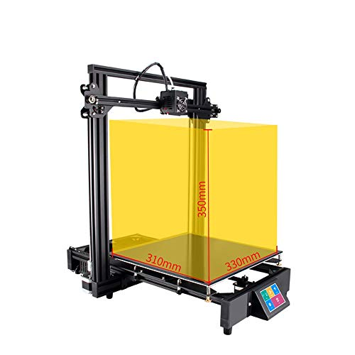 JFCUICAN Imprimante 3D KP2 Haute précision FDM Imprimante Industrielle de qualité 3D Imprimante Neuve de kit DIY 3D