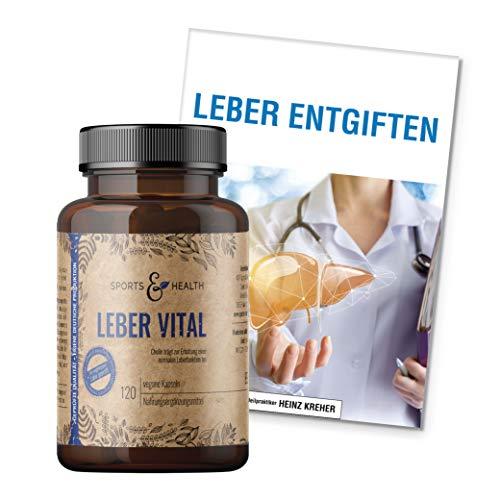 Leber Vital Mit Mariendistel Cholin Löwenzahn Und Artischocke Für Eine Gesunde Leber - Inklusive Ratgeber