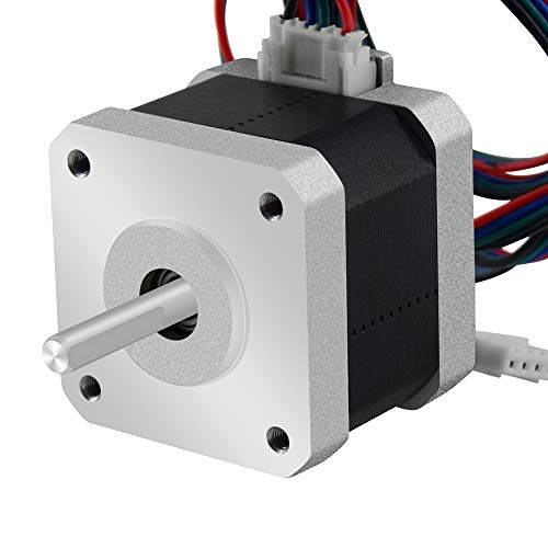 Usongshine Nema 17 Stepper Motor 42 Motor 1.5A (17HS4401) High Torque 42N.cm (60oz.in) 42BYGH...