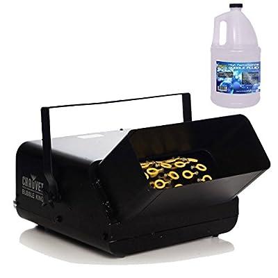Chauvet B550 Bubble King Bubble Machine w/ Bubble Fluid by Chauvet