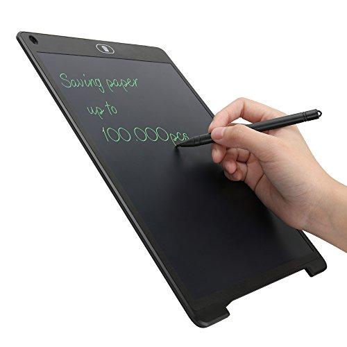 Tavoletta Grafica Scrittura Tablet LCD 28 X 18,5cm con Penna Wireless Disegni di Animazione, Cancellazione di Un Pulsante e Mantenere la Funzione del Contenuto,per Insegnante, Studenti, Progettista