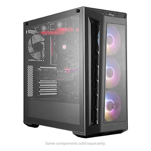 Cooler Master MasterBox MB530P ARGB - Case PC ATX con 3 Pannelli in Vetro Temperato, 3 x 120mm Ventole Premontate, Configurazioni Flessibili Airflow - ARGB