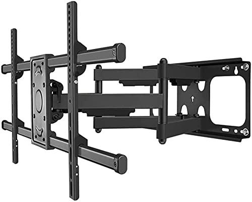 Lzpzz Soporte de TV para pared para TV utilizado para la mayoría de 32 a 65 pulgadas con brazo inclinable articulado utilizado para centrar TV máximo VESA600 x 400 mm de carga de 45 kg