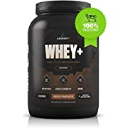 Legion Whey+ Chocolate Peanut Butter Protein Powder - Best Tasting Whey Isolate Protein Shake From Grass Fed Cows For Weight Loss, Bodybuilding, & Recovery. All Natural, Low Carb, Lactose Free. 30 Servings!