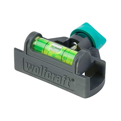 Wolfcraft 5222000 Nivel para metro plegable, Negro y verde