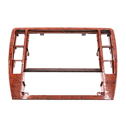 GF Ajuste para Passat B5 Middle Escutcheon Centro Caja Decorativa Cuadro de Control Panel de Consola Grabadora de CD Frame Radio Face Riet 3B0 858 069 (Color Name : Wood)