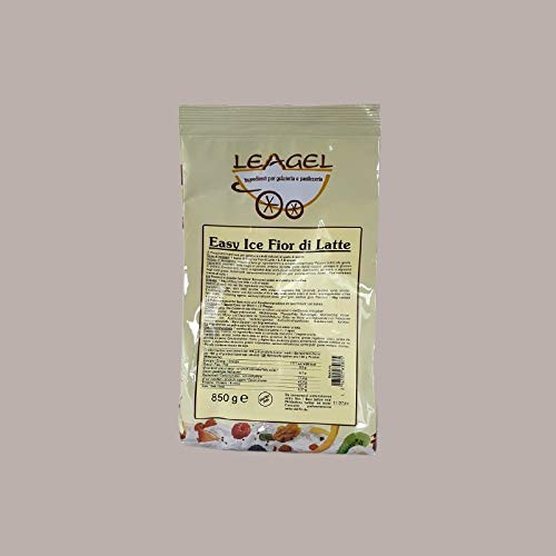 Leagel (850 gr) Easy Ice Preparato in Crema per Gelato al...