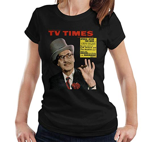 TV Times Groucho Marx 1965 Cover Women's T-shirt
