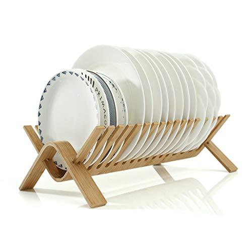 Yaya afdruiprek van bamboe, plat, voor wasdroger