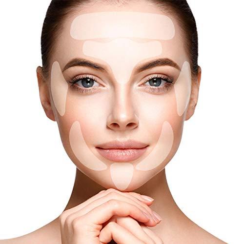 Facial Patches, Anti Aging Gesichts Anti-Falten-Patches, Wiederverwendbare Falten Entferner Pflaster,Gesichtsheber