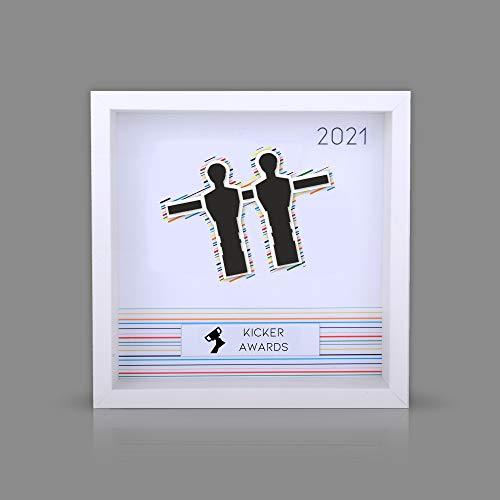 Generisch Pokale Tischkicker Kicker Award Ehrenpreis Trophäen TOP Auszeichnung mit individueller Gravur + Logo bestellen