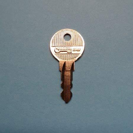 Ersatzschlüssel R-Serie für diverse Trägersysteme und Anhängerkupplungen. Schlüssel R - Code 016