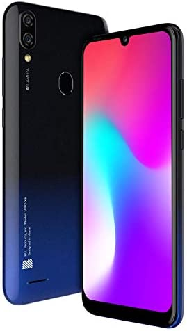 "BLU VIVO X6 | 2021 | All Day Battery | Unlocked | 6.1"" HD+ Display | 64GB | Dual 13 MP Camera | US Version | US Warranty | Black WeeklyReviewer"