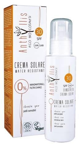 ANTHYLLIS - Crème Solaire SPF 30 - Résistant à l'Eau - Sans Filtres Chimiques et Nanomatériaux - Parfait pour la Peau Sensible - 100 ml