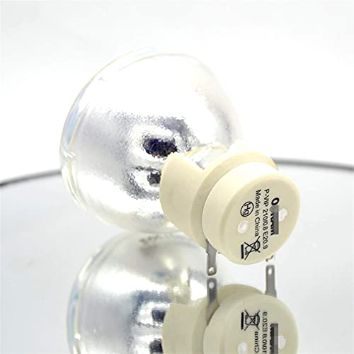 Compatible 5J.J2605.001 Apto para Benq PB7115 MP777 PB8145 PB8125 MX812ST Bombilla de lámpara de proyector P-VIP 300/1.3 E21.8 Reemplazo de Bombilla de proyección