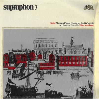 Musica sull'acqua (Vinyl LP) Musica sull'acqua HWV 348 (1715) suite n.1 in FA Musica per i fuochi d'artificio HWV 351 (1749)