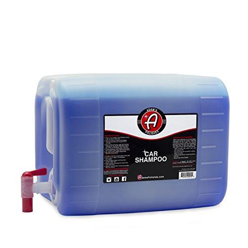 Adam's Car Shampoo 5 Gallon Jug - pH Best Car Wash Soap For Snow Foam Cannon, Foam Gun, Car Soap Wash For Pressure Washer & 5 Gallon Wash Bucket Kit | Powerful Safe Spot Free Car Cleaning Liquid Auto Detergent | Safe On Car Wax & Ceramic Coating