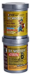 PC Products PC-Woody Wood Repair Epoxy Paste, Two-Part 12oz in Two Cans, Tan 16333 review