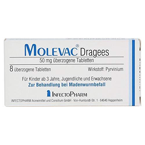Molevac Tabletten, 8 St. Tabletten