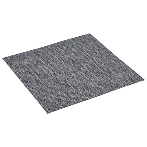 Festnight Laminat Dielen Selbstklebend Antiallergen Bodenbelag Vinylboden Fußboden Designboden 5,11 m² PVC Grau