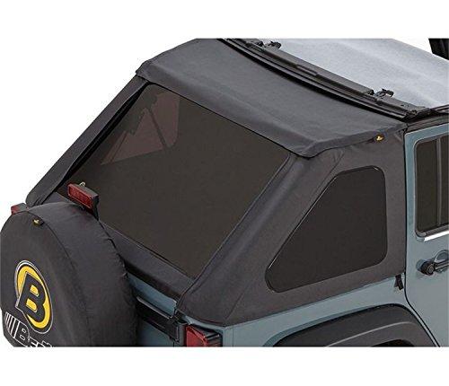 Bestop 5822335 Tinted Window Kits For Bestop Trektop Nx Soft Tops For 2007-2018 Wrangler JK Unlimited
