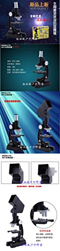 1200 times higher magnification microscope with a projection set birthday gift New Year gift