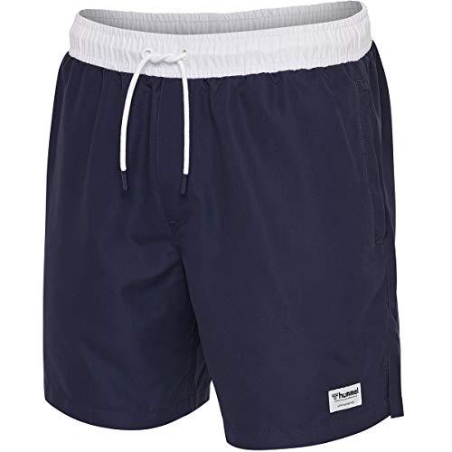 Hummel Herren hmlJORDAN Board Shorts, Blau, L
