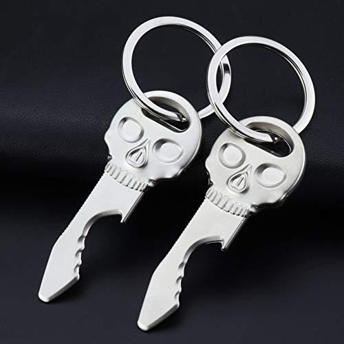 YCEOT hoofd hanger sleutelgesp metalen fles opener sleutelhanger originaliteit reclame agentschap geven kleine gift